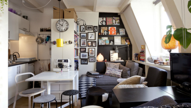 3 ideas for smal studio apartment