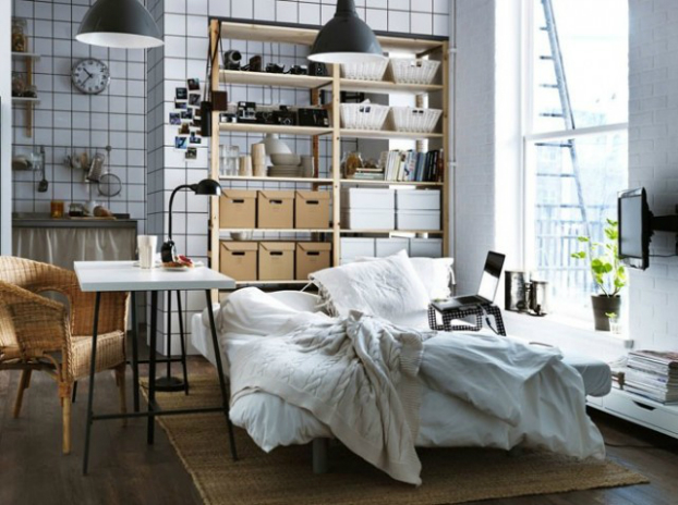 4 ideas for smal studio apartment