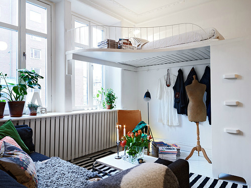 just smart and there are plenty of big ideas for small space living