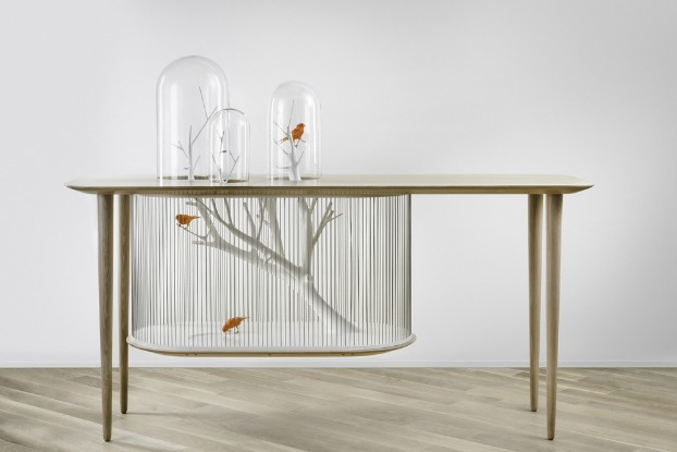 Cage Archibird Table by Gregoire de Lafforest