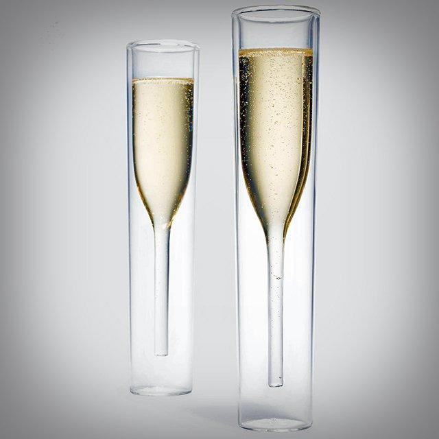 Champagne Glass design idea