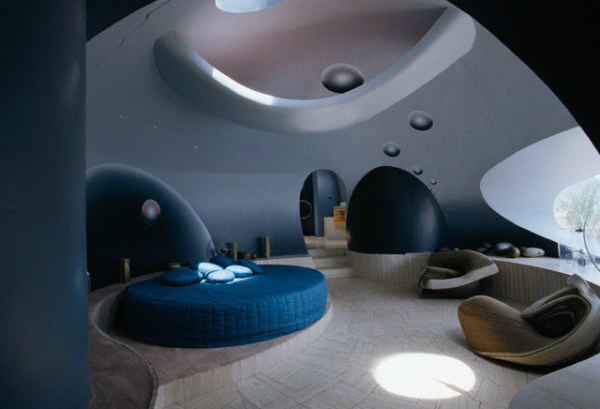 Futuristic Bedroom Design 21