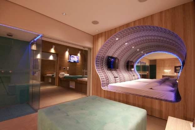 Merveilleux Futuristic Bedroom Designs 6