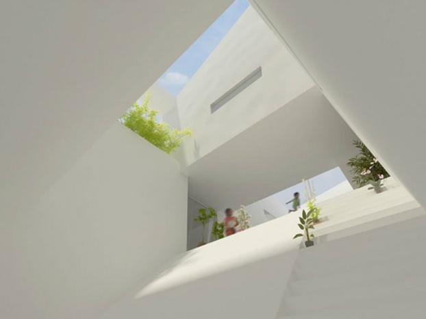 ninimalist house ceiling