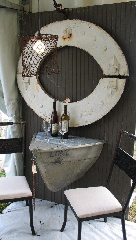 old boat home decor 8