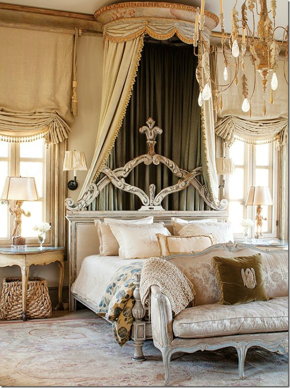 Romantic bedroom ideas with a fairytale feel decoholic Modern vintage master bedroom