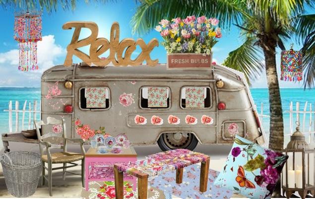 Summer Boho Chic Decorating Ideas
