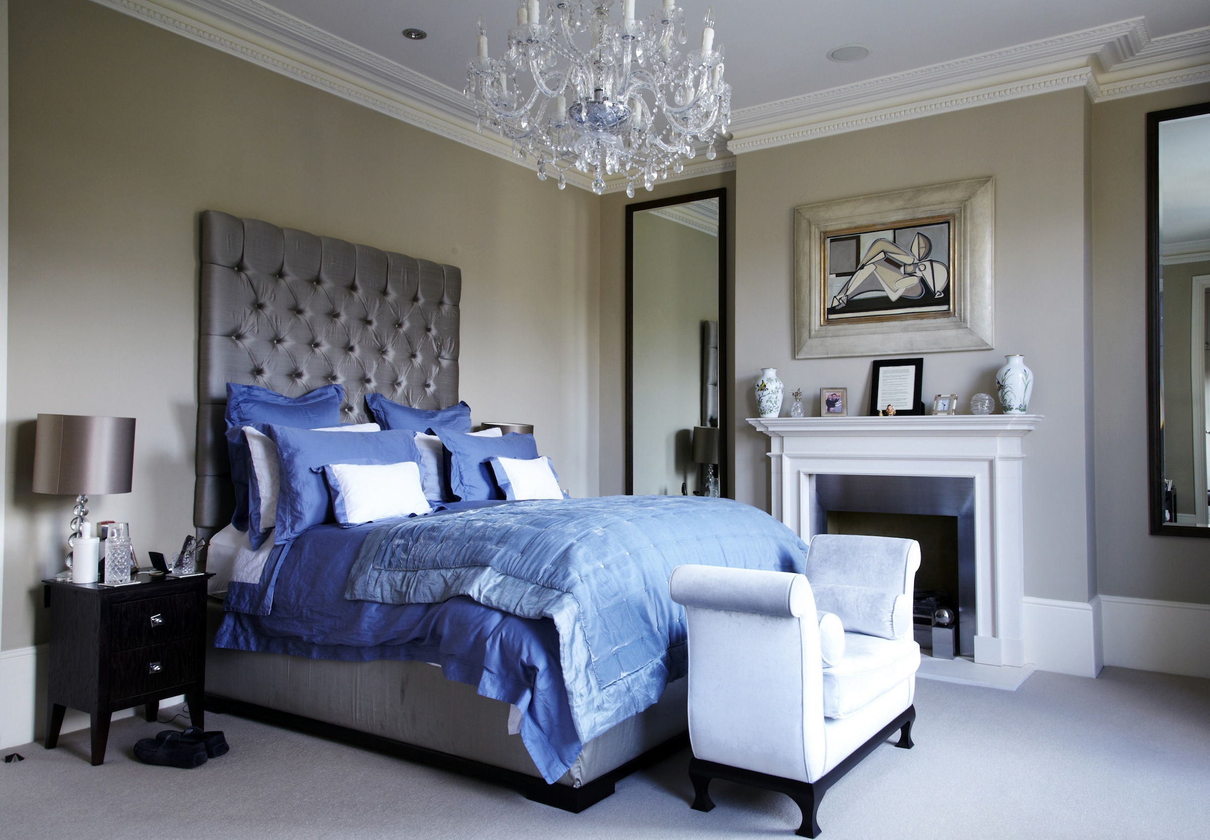 Modern Victorian Bedroom - Home Design