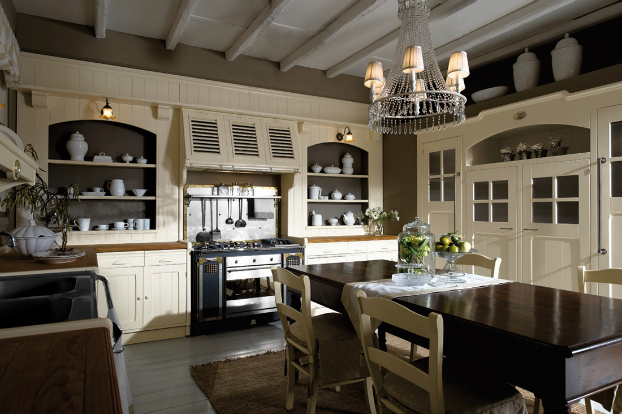 Kitchens with striking design and elegant style decoholic for Elegant kitchen designs