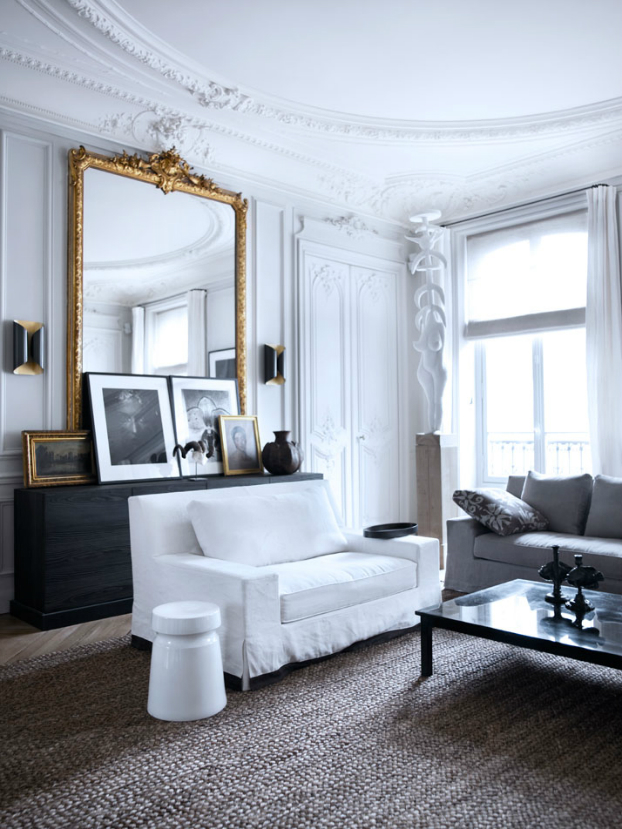 Historic Parisian Apartment with Contemporary Art 7