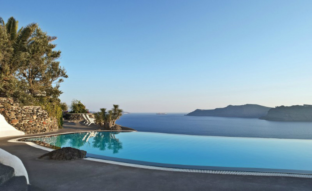 greek island hptel pool interios 10