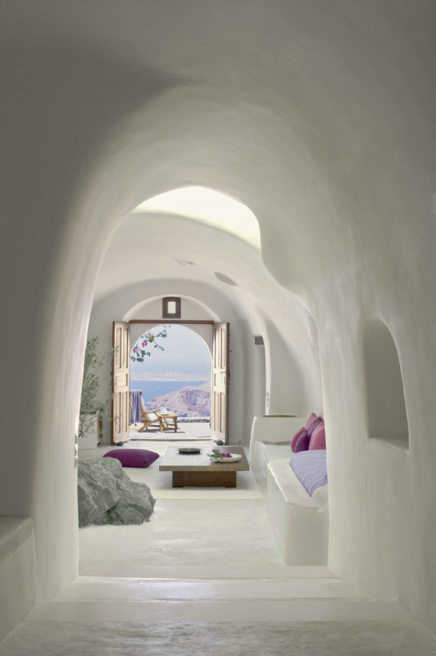 awesome greek island room interiors