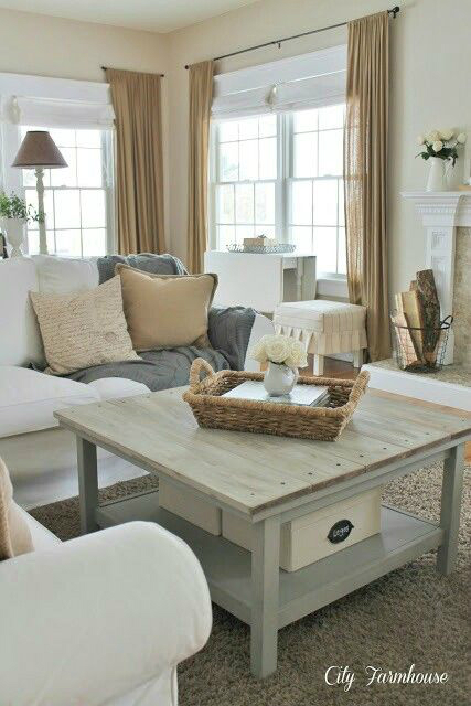 beige gray fall living room