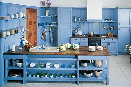 blue navy kitchen design