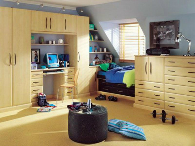 storage solution for boys room
