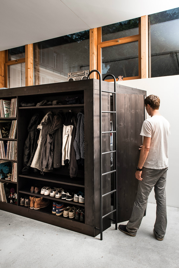 Innovative Storage Facility For A Studio Apartment Decoholic