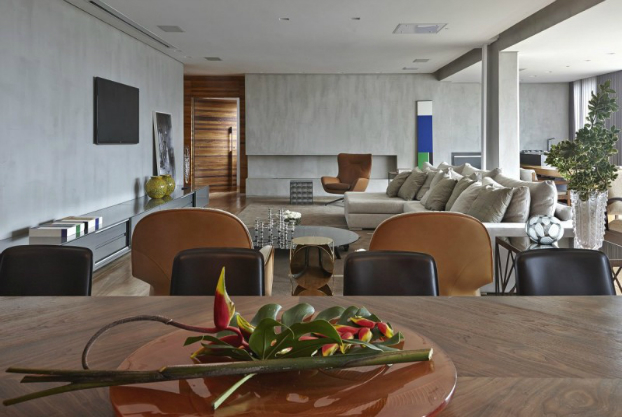 contemporary interior design by Apartment LA by David Guerra 9