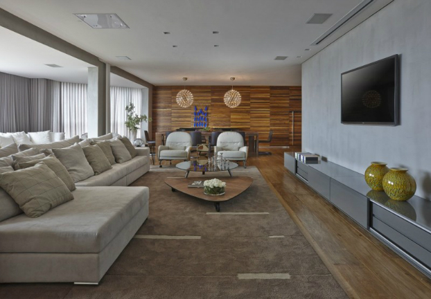 contemporary interior design by Apartment LA by David Guerra