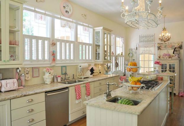 feminine touch kitchen design