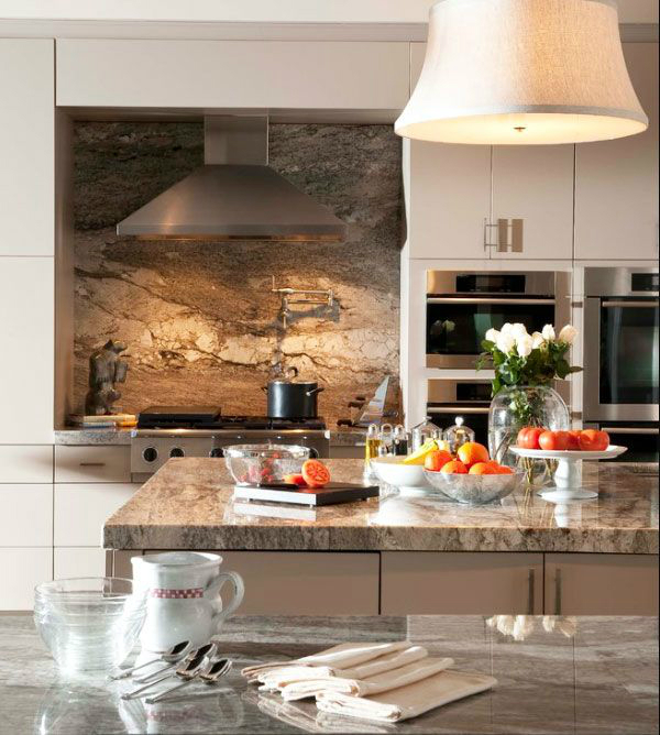 granite Kitchen Backsplash Idea