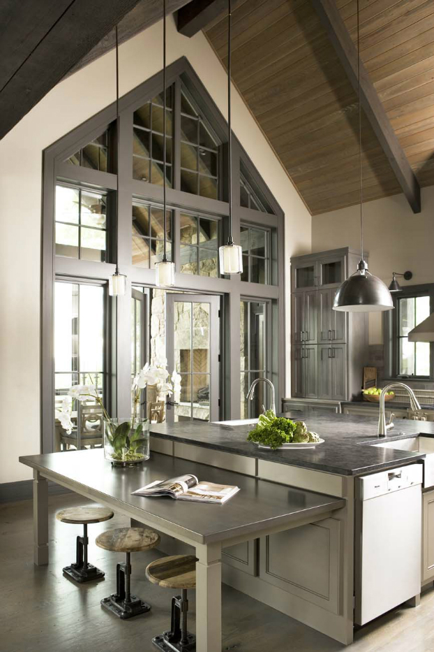 Kitchen designed by Linda McDougald Design