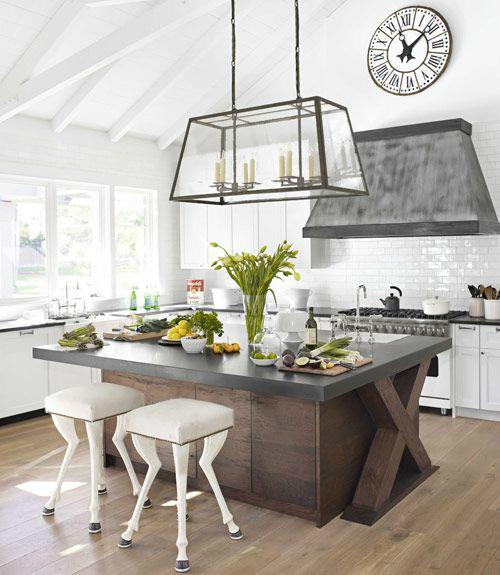 kitchen design with huge island