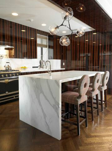 luxury wood kitchen design