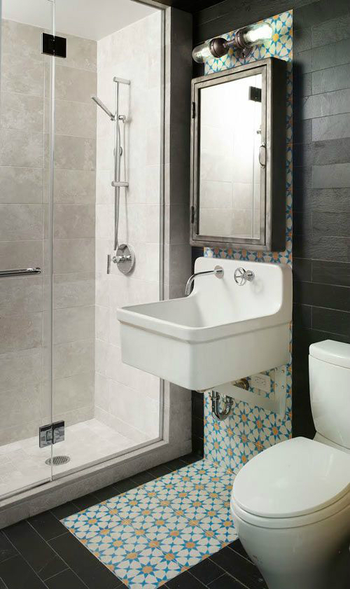 modern small bathroom design idea