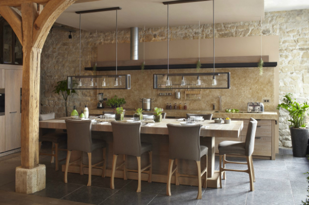 new rustic kitchen design