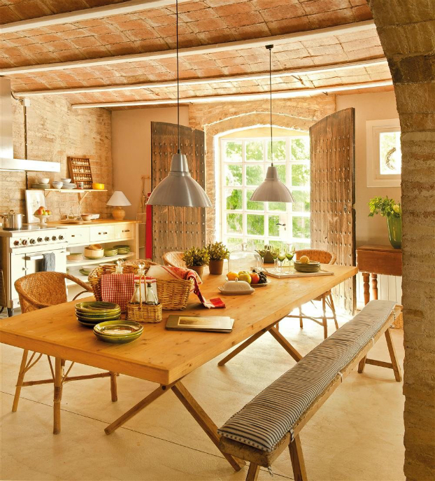 romantic warm farmhouse interior 7