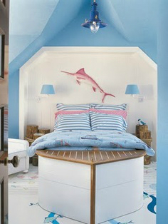 sea nautical boys room decorating ideas