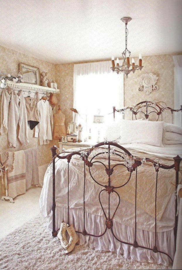 shabby chic bedroom decorating ideas 17 - Ideas For Shabby Chic Bedroom
