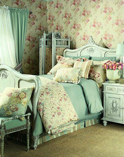 shabby chic bedroom decorating ideas 24