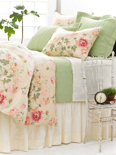 pastel bed colors