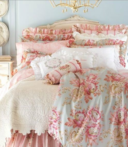 30 shabby chic bedroom decorating ideas decoholic. Black Bedroom Furniture Sets. Home Design Ideas