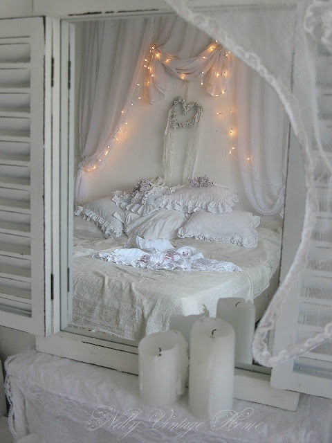 Wonderful Shabby Chic Bedroom Decorating Ideas 6