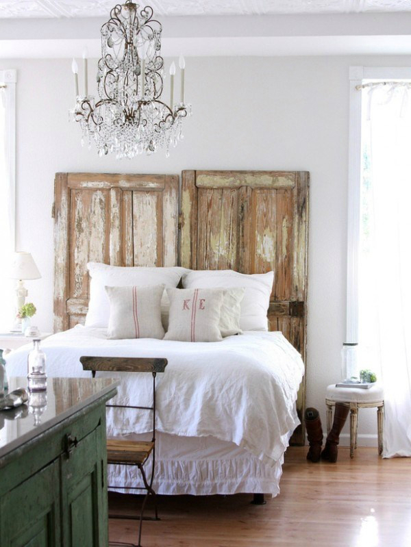 good Country Chic Bedroom Ideas Part - 6: Shabby Chic Bedroom Decorating Ideas 7