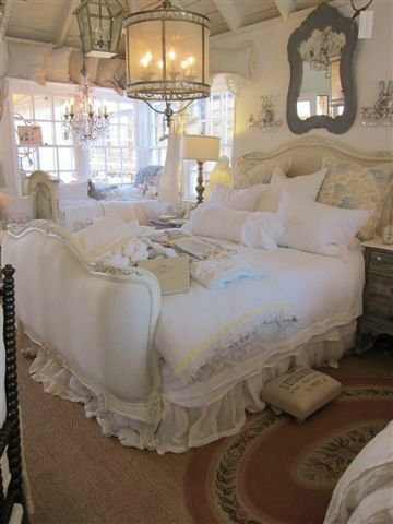 Wonderful Shabby Chic Bedroom Decorating Ideas 8
