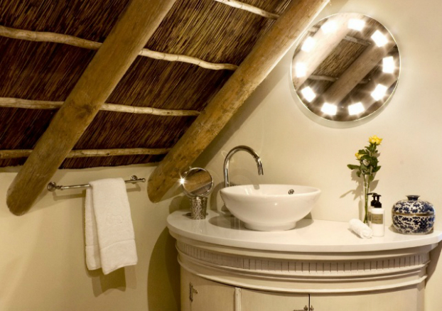 small attic small bathroom design idea
