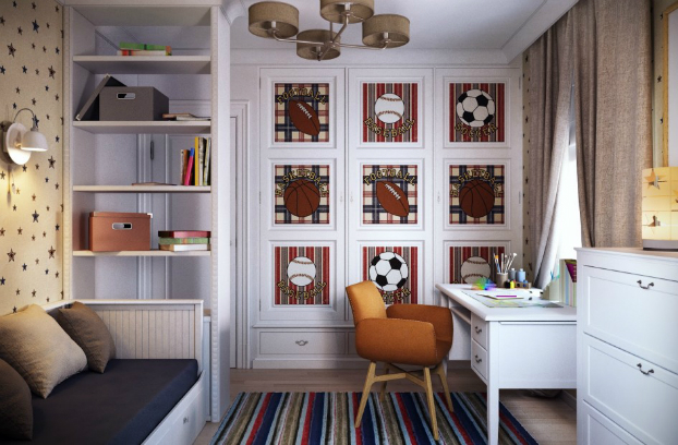 Classic Boys Room Decorating Ideas