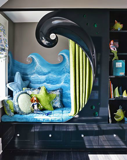 wave bed boys room decorating ideas