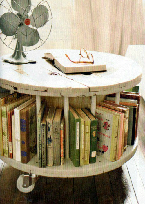 decorating ideas with books 20