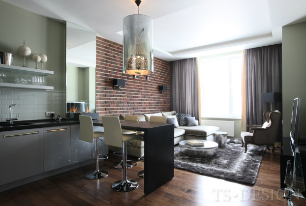 Apartment with Contemporary Masculine Flair in Moscow3