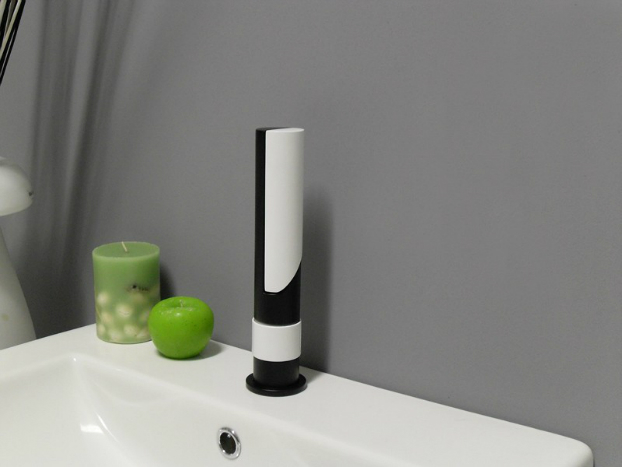 Contemporary black white Faucet by Savil