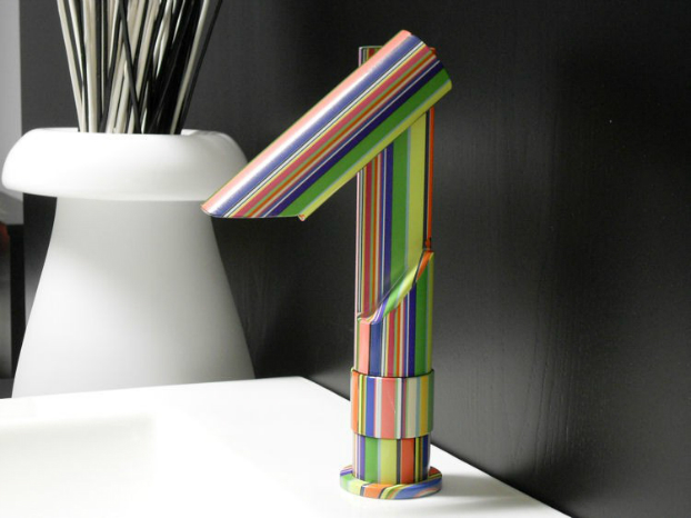Contemporary Colorful Faucet by Savil