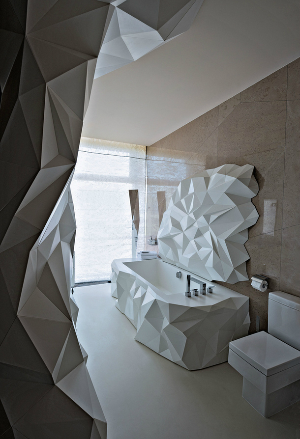 21 unique bathroom designs decoholic for Ultra modern bathroom designs