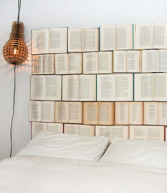 decorating ideas with books 10