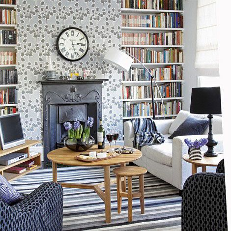 decorating ideas with books 12