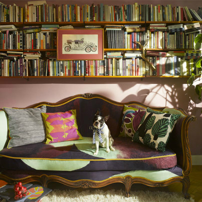 decorating ideas with books 3