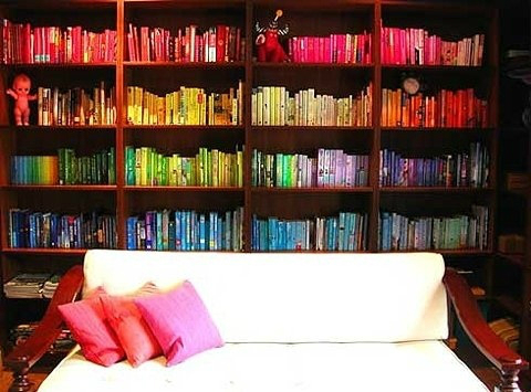 decorating ideas with books 4